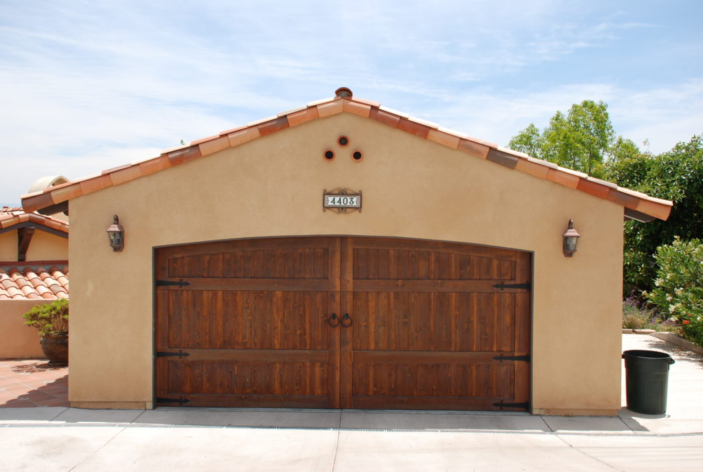 New Construction Garage Built
